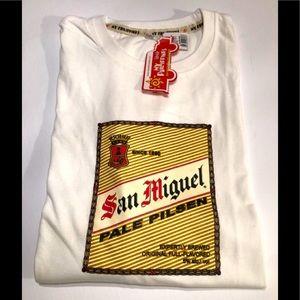 SAN MIGUEL Beer Philippines Kultura t-shirt BNWT